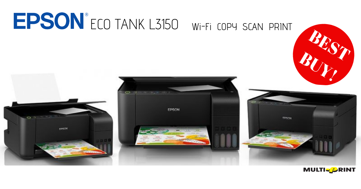EPSON ECO TANK L3150 – Multiprint
